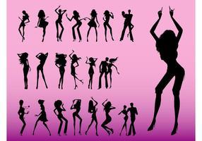 Graphiques de danseurs