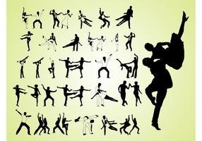 Danseurs rétro