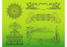 Kalligraphische Entwürfe