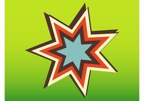 Icono Retro Estrella