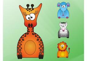 Wilde Tiere Cartoons