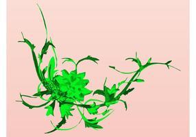Gröna växter design