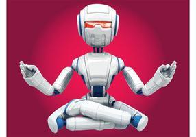Mediterende robot