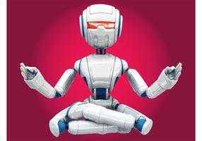 Robot méditant