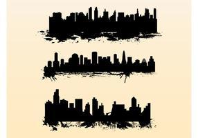 Splattera stadsbilder