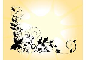 Silhouette Flower