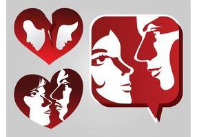 Liefde Pictogrammen