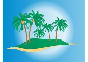 Vetor de palmas