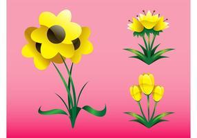 Lente Bloemen Grafiek