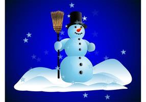 Glücklicher Schneemann-Vektor