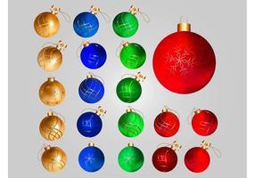 Decoraciones de bolas de Navidad