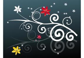 Floral Swirls Design