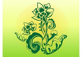 Plante stylisée