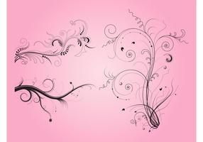 Swirling Plantas Imágenes prediseñadas