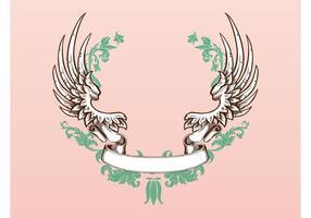 Flügel und Band