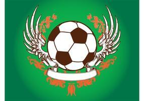 Diseño retro del fútbol