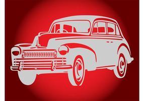 Diseño del coche de la vendimia