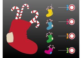 Christmas Stockings Vector