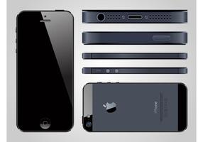 iphone 5 vector