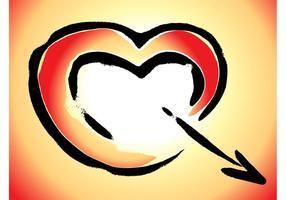 Herzpfeil