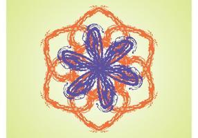 Flor Dibujada a Mano
