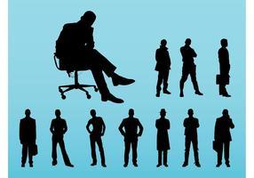 Les hommes d'affaires