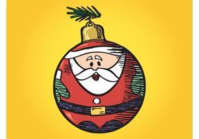 Ornement de Santa