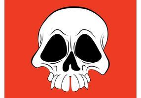 Image crâne de dessin animé