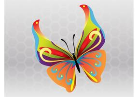 Spring Butterfly Vector