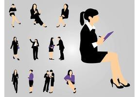 Arbeitende Frauen