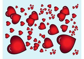 Herzen Vektor