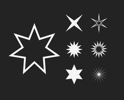 Stjärnor vektorer Clip Art