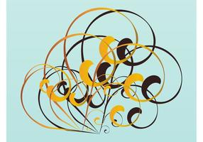 Swirls Vector Design