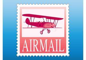 Luftpost Briefmarke