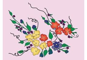 Blommor bukett