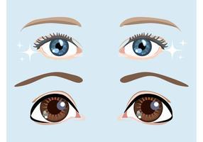Cartoon-eyes-vector