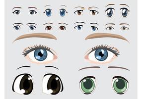 Ögon vektorgrafik