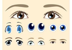 Vetores de olhos