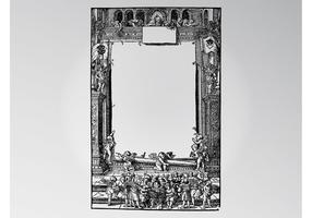 Antike Szene