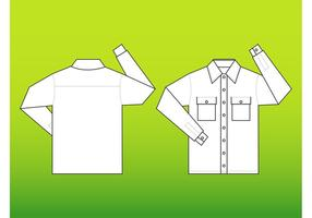 Shirt Vector Template