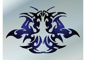 Abstrait Tattoo Vector