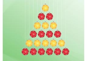 Christmas Tree From Ornaments