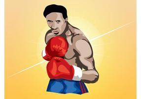 Vecteur boxeur