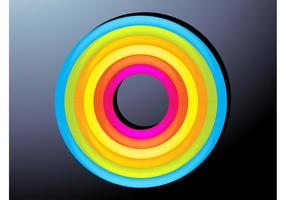 Cirkels grafische kunst