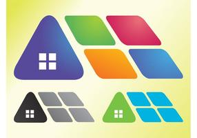 Abstract House Icons