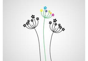 Verano Flores Vector