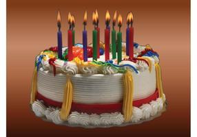 Image du gâteau d'anniversaire