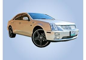 Luxe auto vector