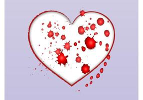 Grunge Love Vector