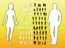 People Silhouettes Graphics